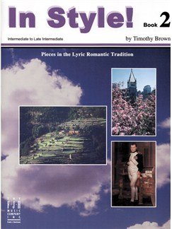 Timothy Brown: In Style! Book 2 Books | Piano