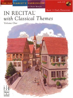 In Recital With Classical Themes: Volume 1 - Book 1 Books and CDs | Piano