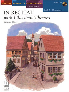 In Recital With Classical Themes: Volume 1 - Book 2 Books and CDs | Piano