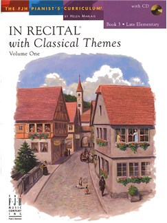 In Recital With Classical Themes: Volume 1 - Book 3 Books and CDs | Piano