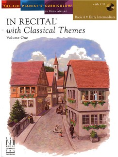 In Recital With Classical Themes: Volume 1- Book 4 Books and CDs | Piano