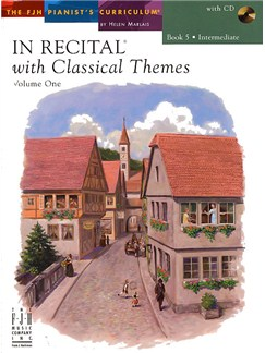 In Recital With Classical Themes: Volume 1 - Book 5 Books and CDs | Piano