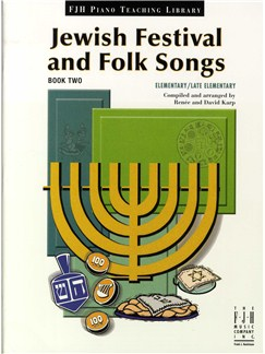 Jewish Festival And Folk Songs - Book Two Books | Piano