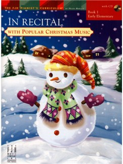 In Recital with Popular Christmas Music - Book 1 Books and CDs | Piano
