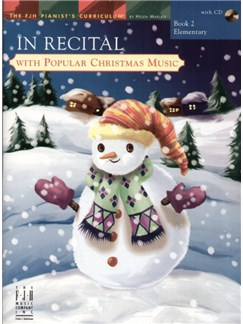In Recital with Popular Christmas Music - Book 2 Books and CDs | Piano