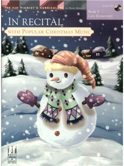In Recital with Popular Christmas Music - Book 3 Books and CDs | Piano