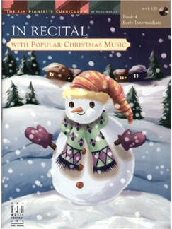 In Recital with Popular Christmas Music - Book 4 Books and CDs | Piano