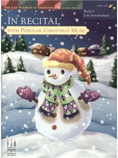 In Recital with Popular Christmas Music - Book 6 Books and CDs | Piano