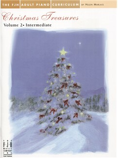 Christmas Treasures Volume 2 - Intermediate Books | Piano
