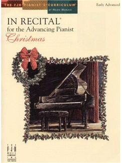 In Recital for the Advancing Pianist - Christmas Books | Piano