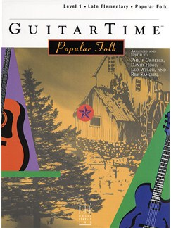 GuitarTime Popular Folk: Level 1 - Pick Style Books | Guitar