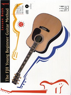 FJH Young Beginner Guitar Method: Lesson Book 1 (CD Edition) Books and CDs | Guitar