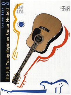 FJH Young Beginner Guitar Method: Lesson Book 2 Books   Guitar