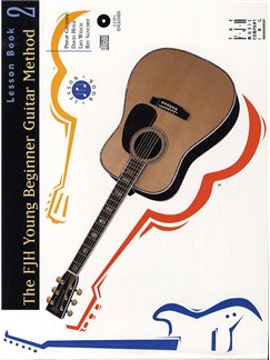 FJH Young Beginner Guitar Method: Lesson Book 2 (CD Edition) Books and CDs | Guitar