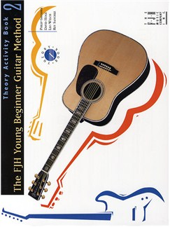 FJH Young Beginner Guitar Method: Theory Activity Book 2 Books | Guitar