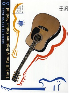 FJH Young Beginner Guitar Method: Exploring Chords Book 2 Books | Guitar