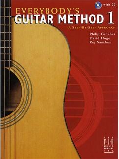 Everybody's Guitar Method: Book 1 (CD Edition) Books | Guitar