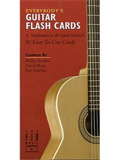 Everybody's Guitar: Flash Cards  | Guitar