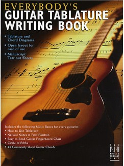 Everybody's Guitar: Tablature Writing Book Books | Guitar