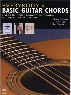 Philip Groeber: Everybody's Basic Guitar Chords Books | Guitar