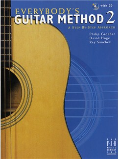Everybody's Guitar Method: Book 2 (CD Edition) Books and CDs | Guitar