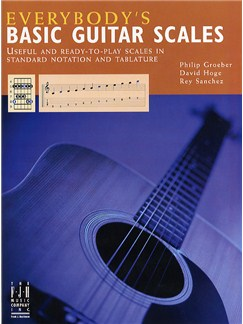 Everybody's Basic Guitar Scales Books | Guitar