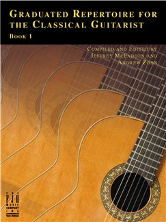 Graduated Repertoire For The Classical Guitarist - Book 1 Books | Classical Guitar