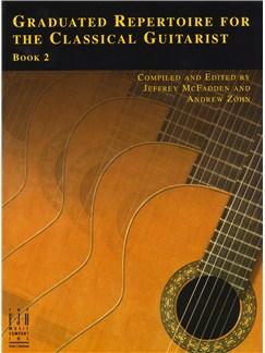 Graduated Repertoire For The Classical Guitarist - Book 2 Books | Classical Guitar