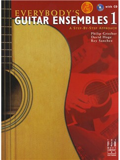 Everybody's Guitar Ensembles 1 - A Step-By-Step Approach (Book/Downloadable Audio) Books and Digital Audio | Guitar