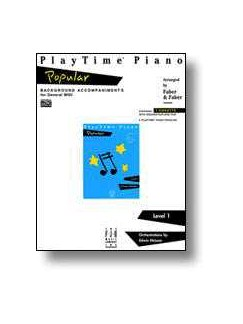 Nancy & Randall Faber: PlayTime Piano Popular Revision MIDI Disk CD-Roms / DVD-Roms | Piano