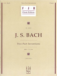 J.S. Bach: Two-Part Inventions BWV 772-786 Books | Piano