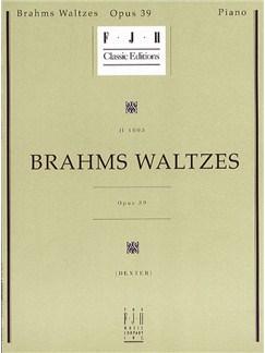 Johannes Brahms: Brahms Waltzes Op.39 Books | Piano