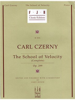 Carl Czerny: School Of Velocity Op.299 Books | Piano