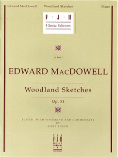 Edward MacDowell: Woodland Sketches Op.51 Books | Piano