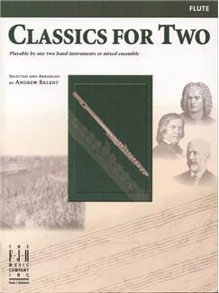Classics For Two (Flute) Books | Flute (Duet)