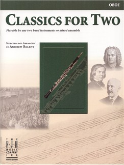 Classics For Two (Oboe) Books | Oboe