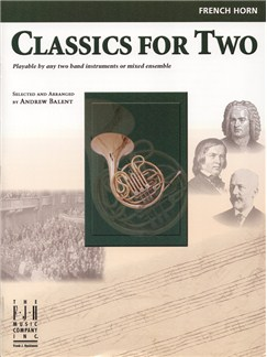 Classics For Two (Horn) Books | French Horn
