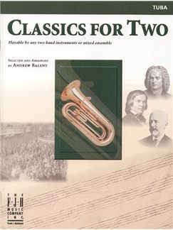 Classics For Two (Tuba) Books | Tuba
