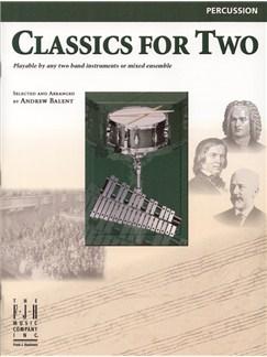 Classics For Two (Percussion) Books | Percussion