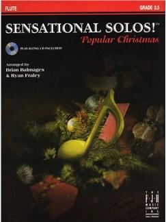 Sensational Solos - Popular Christmas - Flute Books and CDs | Flute