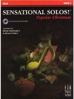 Sensational Solos - Popular Christmas - Violin Books and CDs | Violin