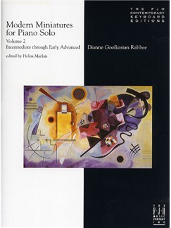 Dianne Goolkasian Rahbee: Modern Miniatures For Piano Solo - Volume 2 Books | Piano