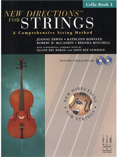 New Directions For Strings: A Comprehensive String Method - Book 1 (Cello) Books and CDs | Cello