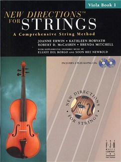 New Directions For Strings: A Comprehensive String Method - Book 1 (Viola) Books and CDs | Viola
