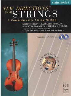 New Directions For Strings: A Comprehensive String Method - Book 1 (Violin) Books and CDs | Violin