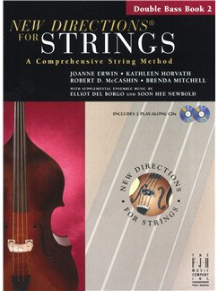 New Directions For Strings: A Comprehensive String Method - Book 2 (Double Bass) Books and CDs | Double Bass