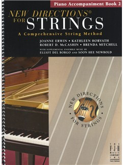 New Directions For Strings: A Comprehensive String Method - Book 2 (Piano Accompaniments) Books | Piano Accompaniment