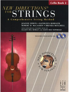 New Directions For Strings: A Comprehensive String Method - Book 2 (Cello) Books and CDs | Cello
