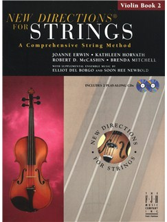 New Directions For Strings: A Comprehensive String Method - Book 2 (Violin) Books and CDs | Violin