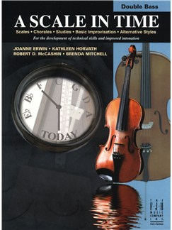 A Scale In Time - Double Bass Books | Double Bass